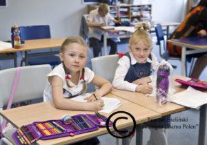 Uczennice klasy I