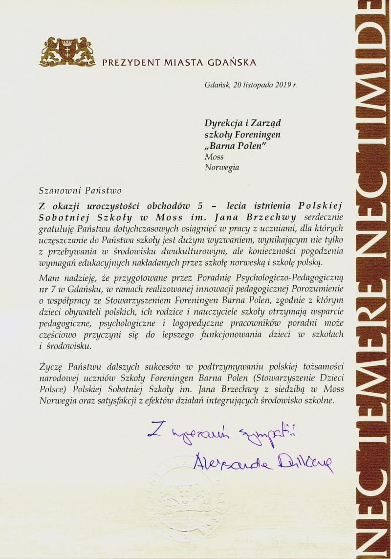 Foreningen Barna Polen Stowarzyszenie Dzieci Polsce